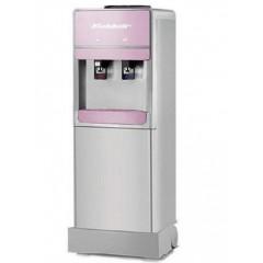 Koldair Water Dispenser 2 SPIGOTS COLD/HOT Silver & Rose: KWD9.2