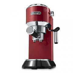 DeLonghi DEDICA Coffee Machine Red Color: EC680.R