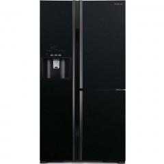 Hitachi Refrigerators540 Liter 4 Doors Glass Black: R-G7099HTX GBK