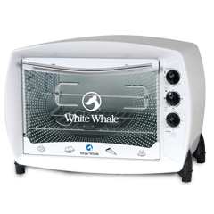 White Whale Oven 30 Liter With Grill White Color: WO-04R