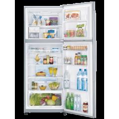 White Whale Refrigerators 14.5 Feet Glass Black 400 Liter: WRF-G4055GBK