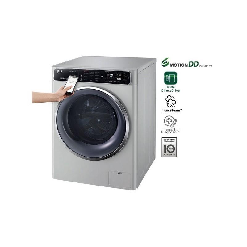 washing machine with steam