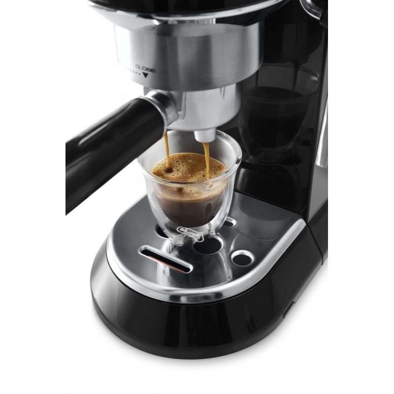 DeLonghi DEDICA Coffee Machine Black Color: EC680.BK Cairo Sales Stores