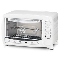 White Whale Oven 45 Liter With Grill WHITE: WO-07R