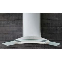JetAir Hood Chimney Glass 90cm: RAVENNA 90