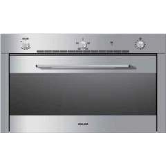 Glem Gas Oven 90cm Gas With Fan Stainless Steel: GF9G31IXN