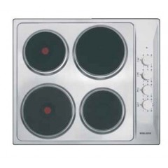 Glem Gas 4 Electric Burners 60cm Stainless Steel: GTL640IX