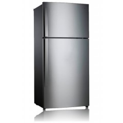 LG Refrigerator Global Top Freezer 23 Feet : GR-B702GLCC Silver