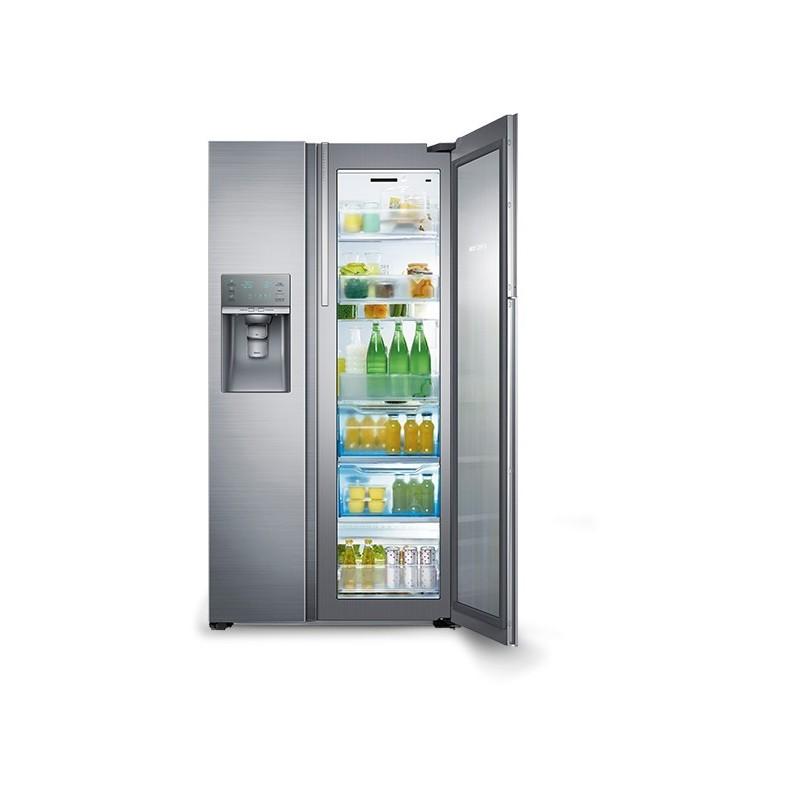 samsung refrigerator side by side 838l rh77h9 7f cairo. Black Bedroom Furniture Sets. Home Design Ideas