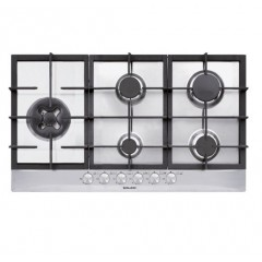 Glem Gas Hob Cast Iron Safety Self Ignition: GT951HGIX