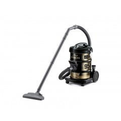Hitachi Pail Can Vacuum Cleaner 2000 Watt with Blower Function & Dusting and Upholstery Brush: CV-950Y