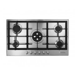 Hoover Built-in Hob Gas 90cm 5 Burners Stainless Steel: HG953/1SXGH