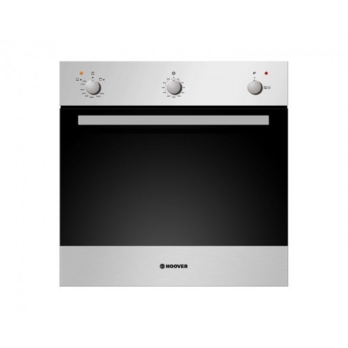 Hoover Gas Oven 60cm Stainless Steel with Grill and Cooling Fan: HPG2021XG
