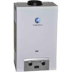 White Whale Gas Water Heater 10 Liter Digital White Color: WG-110W