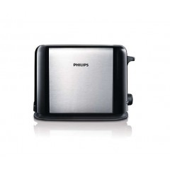 Philips Compact metal design toaster with large bread slots HD2586/20