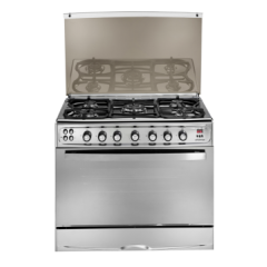 Universal 5 burners gas cooker,Self ignitions,safety,Internal light E4-7 8505