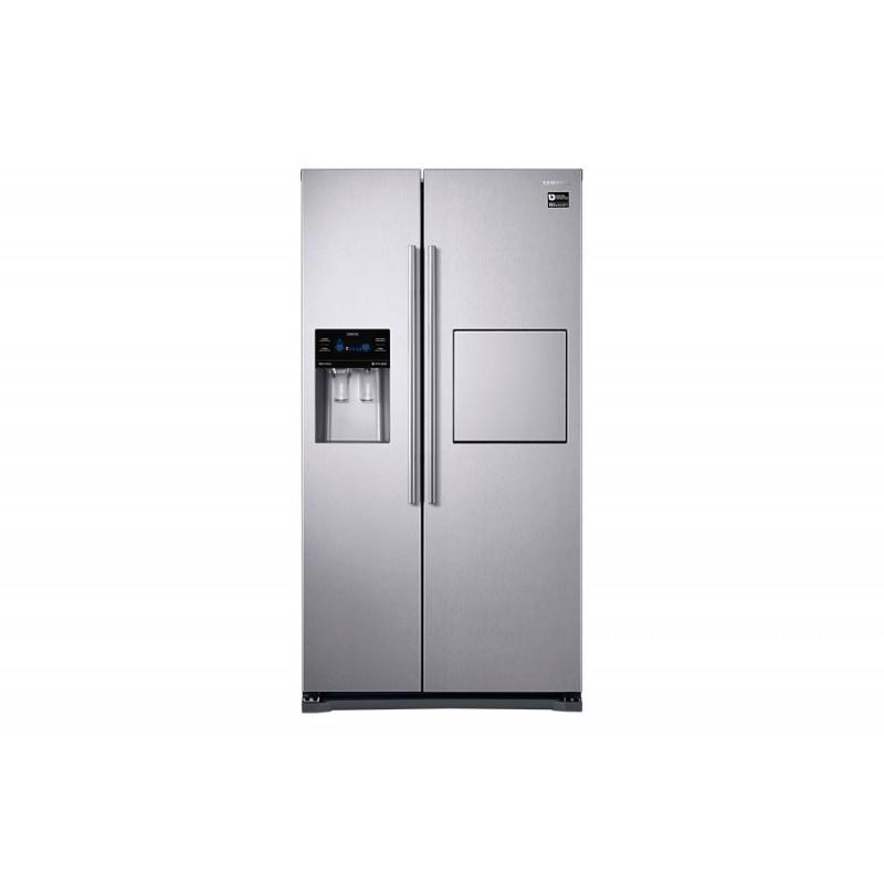 samsung refrigerator side by side 533 liter silver digital. Black Bedroom Furniture Sets. Home Design Ideas