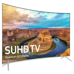 "Samsung TV 65"" Curved SUHD 4K Smart Wireless: 65KS8500"