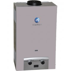 White Whale Gas Water Heater 5 Liter Silver: WG-55 ZR