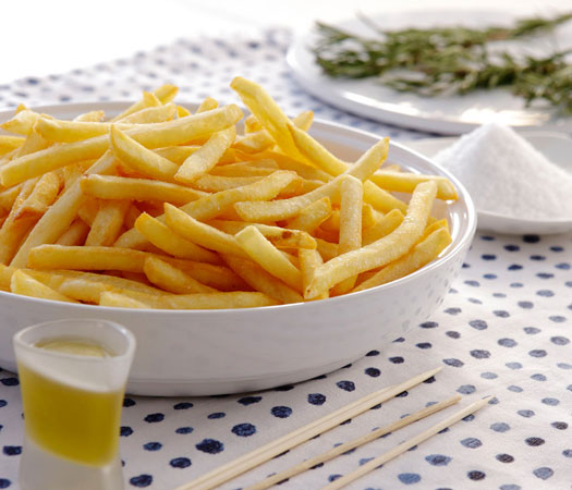 Perfect frying with minimum oil